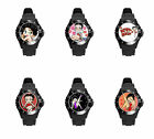 Betty BoOp Black White Pink So many Colors Soft Plastic Rubber Wrist Watch $34.16 CAD