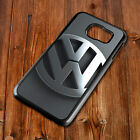 VW Golf Badge Gti Cover Back Phone Case Fits Samsung S4 S5 S6 S7 S8 EDGE PLUS