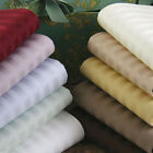 Super King-Size Striped Color's 5 PC Duvet Set 1200 Thread Count Egyptian Cotton