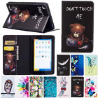 Colorful Flip Wallet Leather Stand Cover Case For Amazon Kindle Fire 7 / HD 8