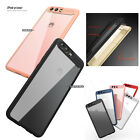 Ipaky Brand TPU Bumper + Hard Clear PC Cover case For Huawei P10 P10 Plus