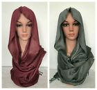 Shimmer Glittery Sparkle Party Wedding Formal Viscose Scarf Hijab 65 X 25 inch