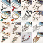 Charm Fashion Rhinestone Statement Bib Chain Choker Pendant Necklace Jewelry