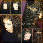 New Glueless Wave Virgin Human Hair Lace Front Wig Full Lace Wig with Baby Hair