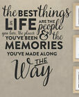 The Best Things In Life Are The People You Love Places Wall Decal Vinyl Art T47