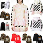 Off White C/O Virgil Abloh Mens Hoodie Casual Pyrex Vision lot Jumper Sweater