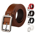Men's Business Waistband Casual Real Leather Best Season Match Pin Buckle Belt
