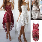 Womens Spring And Summer Fashion Sleeveless Lace Dress Falbala Princess Dress HF
