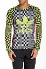 Adidas Jeremy Scott Opart Training T-Shirt Mens Black/Multi Gym Fitness Shirt