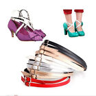 Detachable PU Leather Shoe Straps Laces Band for Holding Loose High Heeled Shoe