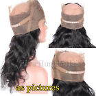 Pre Plucked 360 Full Lace Frontal Closure Virgin Human Hair Closure 360 Frontal