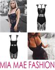 NEW WOMENS LACE DRESS SET SUMMER DRESS ELEGANT BLACK GOWN CELEB SUMMER 2017
