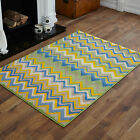 NEW MODERN SMALL EX-LARGE GREEN YELLOW BLUE BEIGE WAVE BEST QUALITY RUGS SALE!