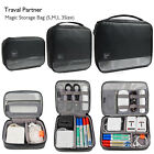 Gearmax Zippered Case Cosmetic Cables Organizer Bag USB Flash Chargers Headsets