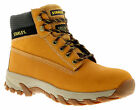 New Mens/Gents Honey Stanley Lace Up Steel Toe Cap Safety Boots. UK SIZES