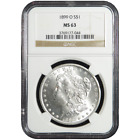 1899-O $1 Morgan Silver Dollar NGC MS63 (Brown Label)