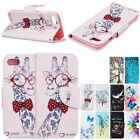 For Apple iPhone Phones Case Thin Folio Leather Stand Card Wallet Fashion Cover