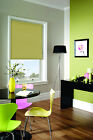 PLAIN BLACKOUT Roller Blinds  - Thermal Quality - FREE delivery -Made to Measure