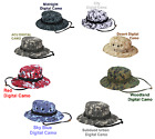 Boonie Bucket Bush Hat CAMOUFLAGE Army Navy USMC Paintball Airsoft Hunting Camo