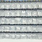 3d Chrome Self-adhesive Letter Number Badge Stickers For Car Home & Auto Signage