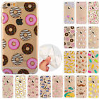 Rubber Pattern Soft TPU Silicone Back Case Cover for Apple iPhone 5S/C/6S/7Plus