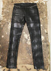 New Balenciaga Wax Coated Cotton Pleated Trousers Black From 2014 RRP £655 BNWT