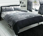 3D NYC New York City Night Duvet/ Quilt Cover Bedding Sets All Size & Curtain