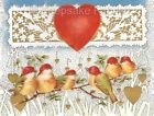 Beautiful Birds Hearts & Lace Quilt Block Multi Sizes FrEE ShiPPinG WoRld WiDE