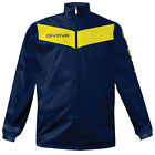 K-Way, Givova Rain Jacket Scudo RJ005 Colore Blu Navy/Giallo 0407