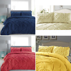 Quality Printed Geometric Cotton Blend Duvet Cover & Pillowcases Bedding Set