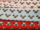 Pugs Poly cotton dog fabric 45 inches wide 3 colours  £1.95 per metre
