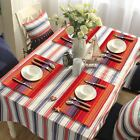 2/4/6pcs Hand-woven Cotton Placemat Washable Dining Kitchen Table Mats Coasters