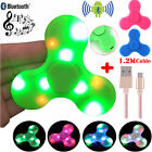 Bluetooth Speaker & LED Light UP Hand Fidget Spinner Stress Reducer EDC Desk Toy
