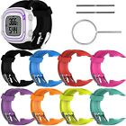 Silicone Bande Bracelet Sangle pour Garmin Forerunner 10 15 GPS Running Watch