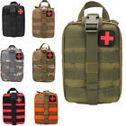 Duty Emergency First Aid Kit Military Medical Bag Molle Pocket Waist Vest Pouch
