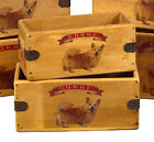 Corgi Dog Vintage Box Dog Treats Great Corgi Gift Storage Crate