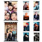 Lot of & Kpop BTS Bangtan Boys Hanging Painting Art Painting