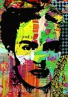 Frida Kahlo Collage Art Fabric Crazy Quilt Block FrEE ShiPpinG WoRld WiDE (F2