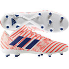 adidas Womens Nemeziz 17.3 FG 2017 Soccer Shoes Cleats White / Red / Blue New