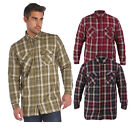 Regatta Sorbus Mens Lined Coolweave Cotton Casual Summer Shirt