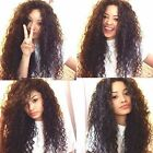 """Brazilian Curly 100% remy human hair front wig full lace wigs 12""""-24"""" 8A Grade"""