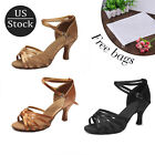 New Women's Girl's lady's Latin Dance Shoes Tango Ballroom Dance Shoes Salsa HWC