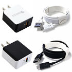 Quick Charge 3.0 Qualcomm 18W Rapid USB Wall Charger Adapter