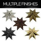 Solid Brass Decorative Star Shape Ceiling Canopy Medallion Accent for Chandelier