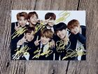 Signed BTS Autographed group Photo  4*6inches  freeshipping 3 versions 062017