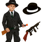CHILDRENS KIDS BOYS 1920S 20S GANGSTER FANCY DRESS COSTUME STAGE THEATRE SHOW