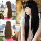 Women Fashion Long Straight Full Wig Carnival Cosplay Party Hairpiece Affordable