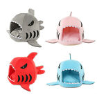 Pet Bed Shark Shape Nest Puppy Dog Cat Cushion House Kennel Sleeping Mat M/L