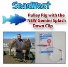Pulley Rig with the NEW Gemini Splash Down Clip  BASS , SMOOTHHOUNDS , COD , RAY