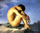 Young Man by the Sea (French classic male print)